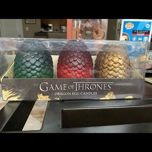 Game of Thrones Dragon Egg Candles